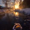 Crystal Rock Sunrise -Chena Hot Springs Resort, Outside Fairbanks, Alaska
