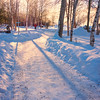 An Early Morning Winter Walk_ -Chena Hot Springs Resort, Fairbanks, Alaska