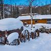 Left Behind Old Car_Chena Hot Springs -Chena Hot Springs Resort, Fairbanks, Alaska