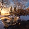 Warmth And Mist Morning Side -Chena Hot Springs Resort, Outside Fairbanks, Alaska