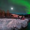 Under The MoonLight Stars -Chena Hot Springs Resort, Outside Fairbanks, Alaska