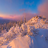The Top Of The Snow Mound -Ester Dome, Fairbanks, Alaska
