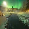 Mystery Evening Under The Moon -Chena Hot Springs Resort, Outside Fairbanks, Alaska