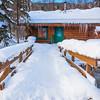 A Cabin In Winter Woods -Chena Hot Springs Resort, Fairbanks, Alaska