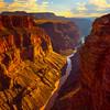 Toroweap Overlook from the Bottom Ledge - Toroweap Overlook, Grand Canyon National Park, AZ