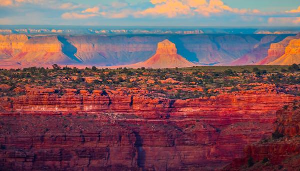 The North Rim From Toroweap Overlook - Toroweap Overlook, Grand Canyon National Park, AZ