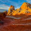 The Longer Rollercoaster White Pockets, Vermillion Cliffs, AZ