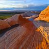All Signs Point White Pockets, Vermillion Cliffs, AZ