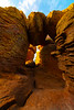 Balancing Rocks On Entrance To Cave - Chiricahua National Monument, Arizona