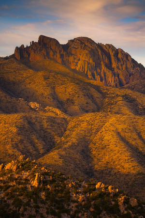 Up And Down To The Top Of The Peak - Chiricahua National Monument, Arizona