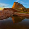 Rainfall Pond Reflections White Pockets, Vermillion Cliffs, AZ