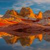 The Warmth Of Last Light White Pockets, Vermillion Cliffs, AZ