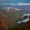 The Grand Canyon Walls Of Red - North Rim, Grand Canyon National Park, AZ