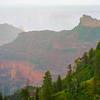 Mist Rolls Through The Grand Canyon