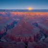 Moonlight Shines Over Tatahatso Point - Tatahatso Point, AZ