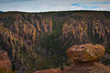 Look Across The Echo Canyon With Light Entering - Chiricahua National Monument, Arizona