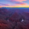 Twilight Over Tatahatso Point - Tatahatso Point, AZ