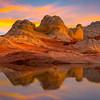 White Pocket Sunset Reds White Pockets, Vermillion Cliffs, AZ