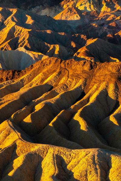 The Jagged Ridgelines Of Death Vallley - Death Valley National Park, Eastern Sierras, California