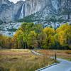 Boardwalk Leading Up To Upper Yosemite - Yosemite National Park, Eastern Sierras, California