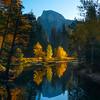 Half Dome From Sentinel Bridge In Morning Light - Yosemite National Park, California