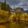 Upper Yosemite Falls From Swing Bridge - Yosemite National Park, Eastern Sierras, California