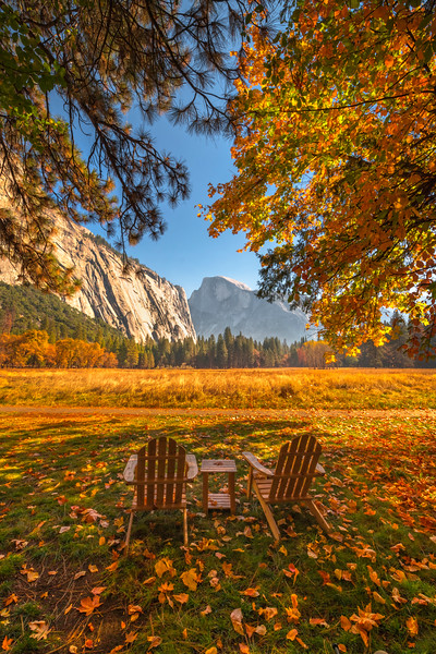 The Perfect View Of Half Dome - Lower Yosemite Valley, Yosemite National Park, CA