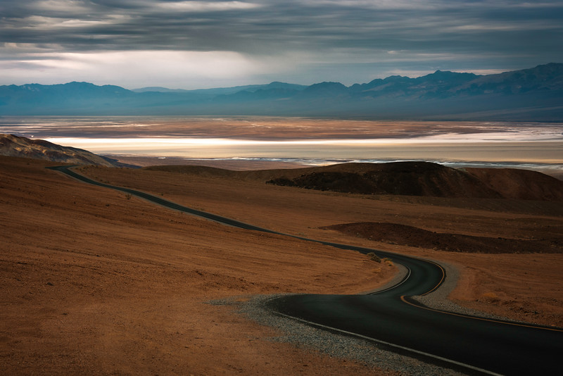 The Road Into The Valley - Death Valley National Park, Eastern Sierras, California
