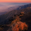 First Light Over Horizon On Dantes Peak - Death Valley National Park, California