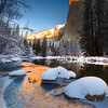 Yosemite River Winter Reflections_Redone_18x12