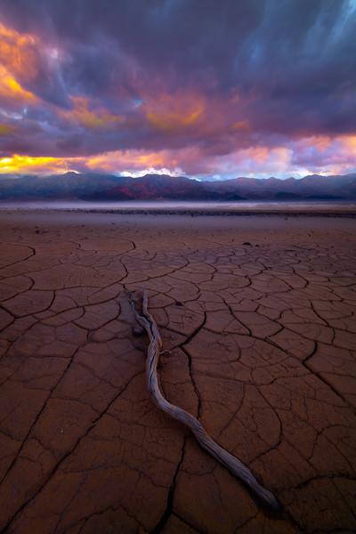 Mud Crack Heaven - Death Valley National Park, Eastern Sierras, California