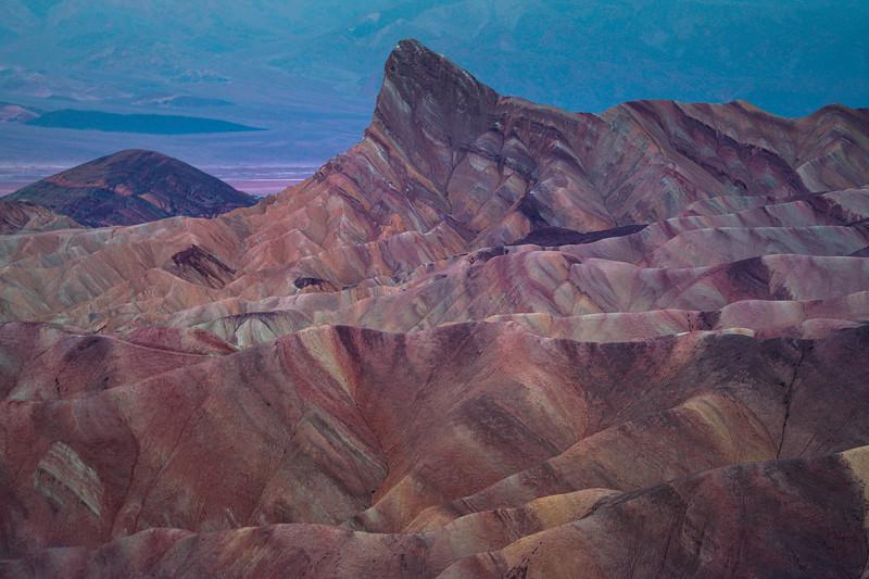 Zabriskie Point After The Rain - Death Valley National Park, California