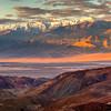 Telescope Peak From Artist Drive - Death Valley National Park, California