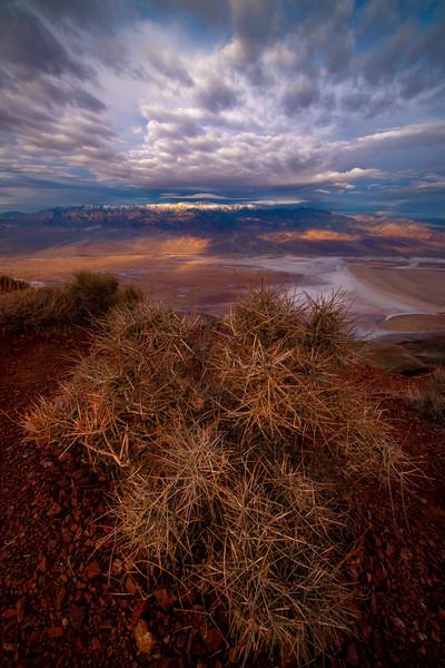 A Burst Of Energy Over Telescope Peak - Death Valley National Park, Eastern Sierras, California