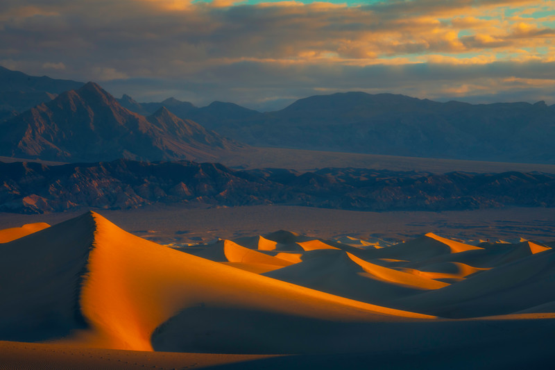 A Tighter Look At The Mesquite Dunes - Death Valley National Park, Eastern Sierras, California