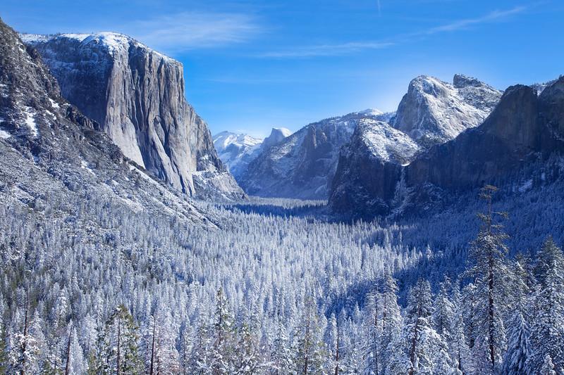 Yosemite Mid-Morning_Yosemite Valley