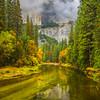 Along The Clear Bottom Of Merced From El Cap Bridge - Yosemite National Park, Eastern Sierras, California