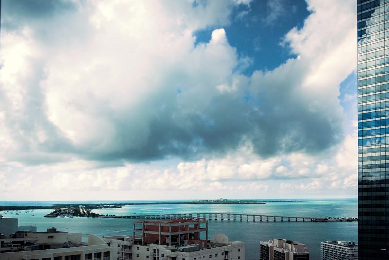 Heading Out Of Miami - Downtown Miami, Florida