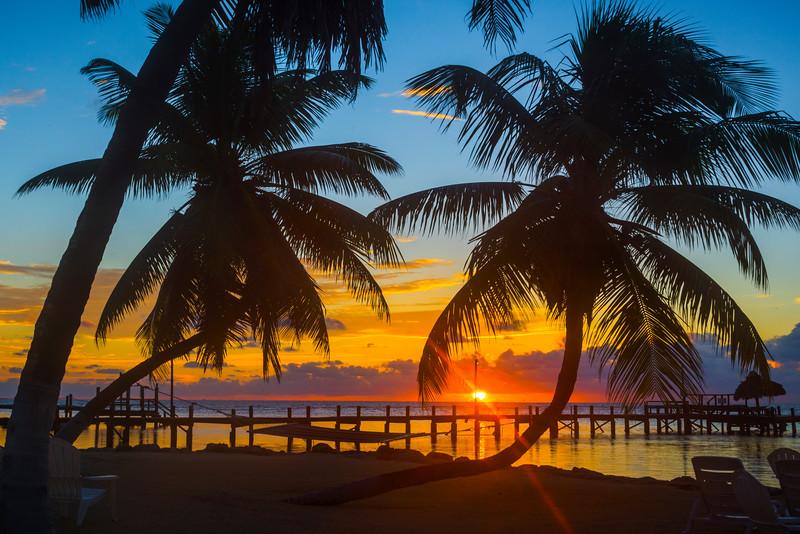 Sunrise Over The Pier In Marathon - Marathon, Florida Keys, Florida