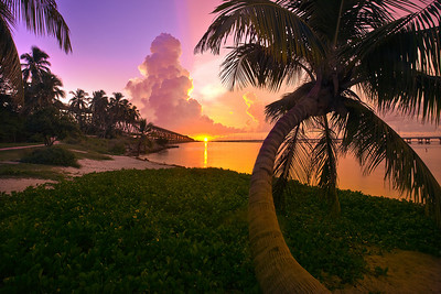 Last Moments Of The Evening - Bahia Honda State Park, Florida Keys, Florida