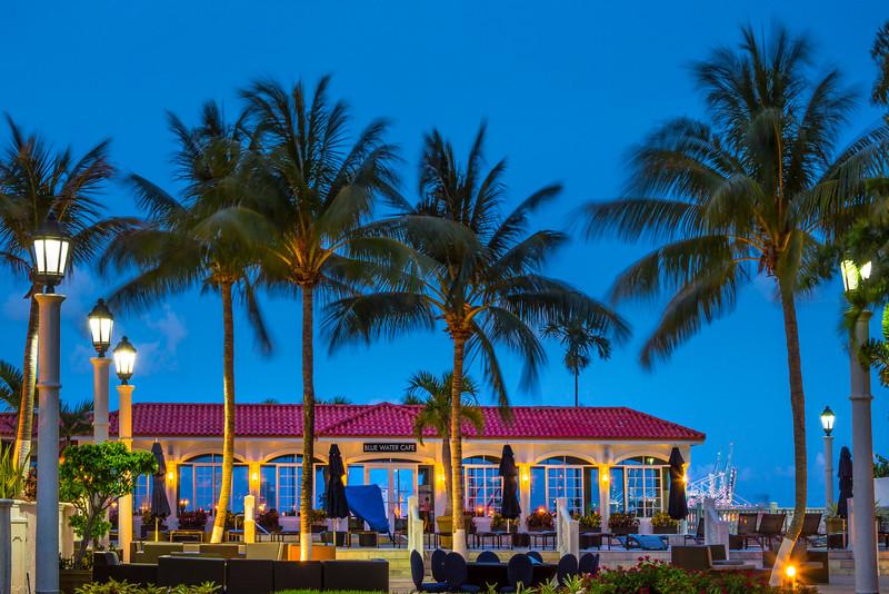 Poolside Blues In Miami - Downtown Miami, Florida