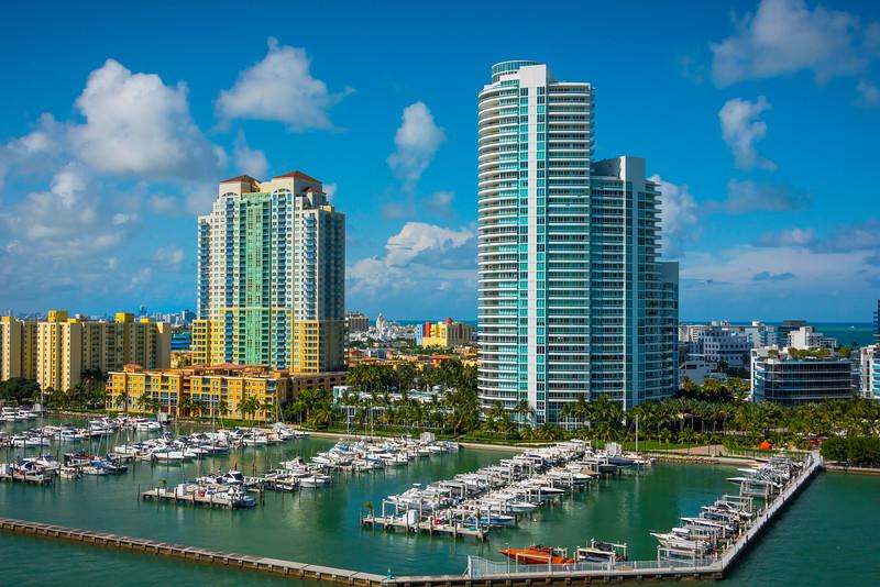 Miami Marina Near South Beach - Downtown Miami, Florida