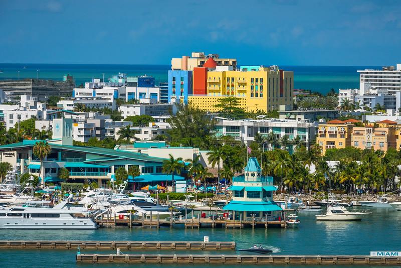 The Art Deco Waterfront - Downtown Miami, Florida