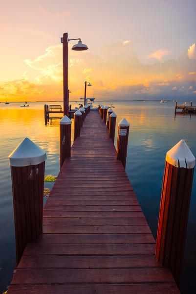 Sunset Over Key Largo -  Key Largo, Florida Keys, Florida