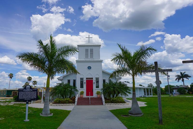 Everglades City Church - Everglades National Park, Florida