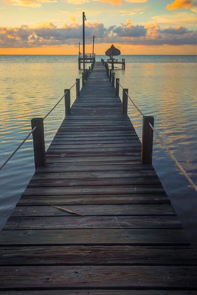 The Walk Out To Bliss - Marathon, Florida Keys, Florida
