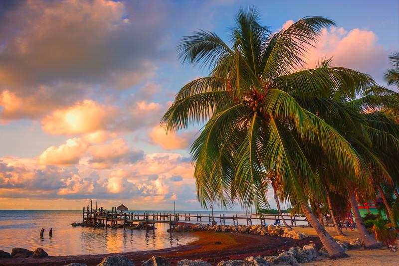 Beach Front Early Morning Light - Marathon, Florida Keys, Florida