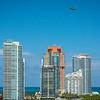 Towers Along South Beach - Downtown Miami, Florida