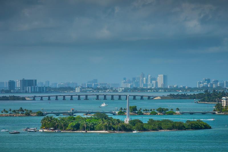 Miami Downtown and Miami Harbour - Downtown Miami, Florida