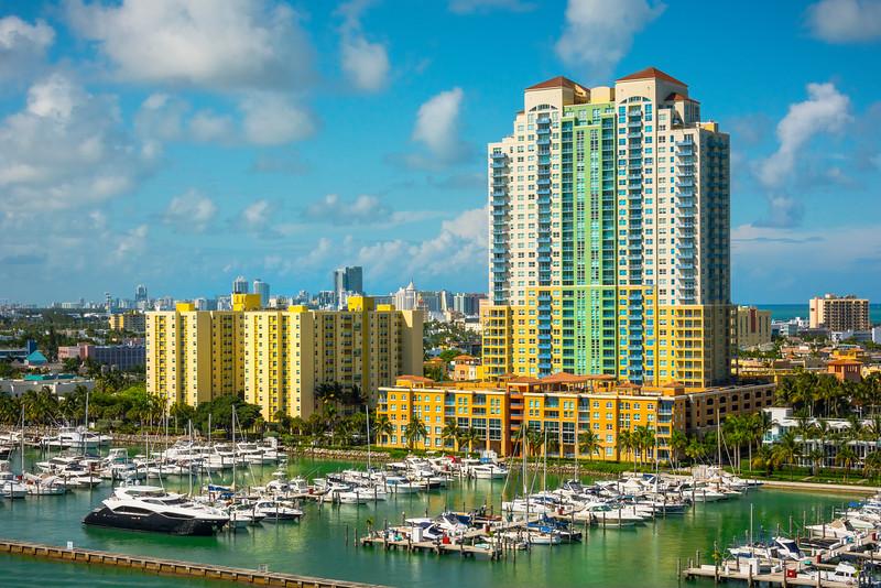 Sailing Away Afternoon - Downtown Miami, Florida
